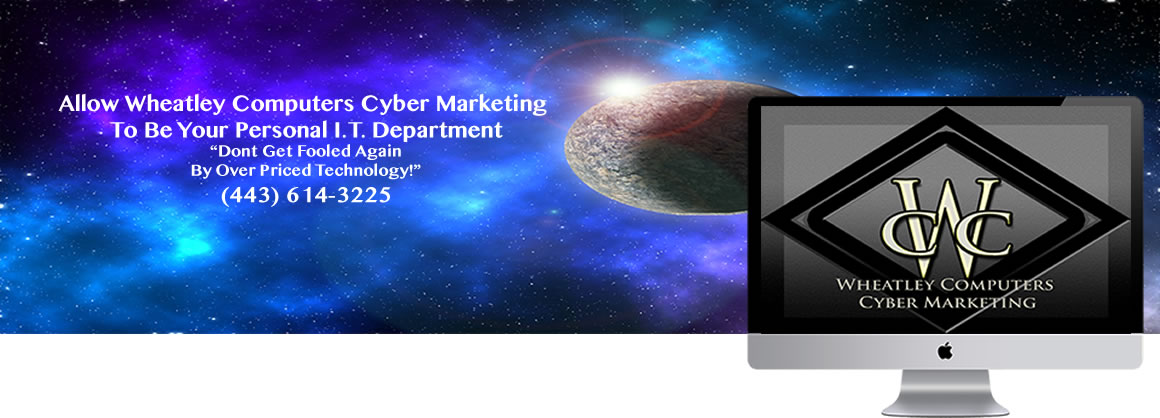 Allow Wheatley Computers Cyber Marketing To Be Your Personal I.T. Department